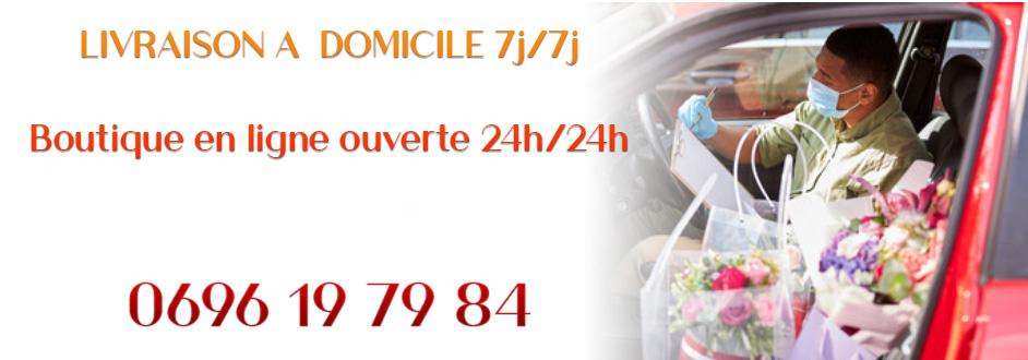 Livraison de fleurs en Martinique